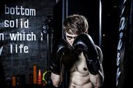 男士健身拳击500966848图片