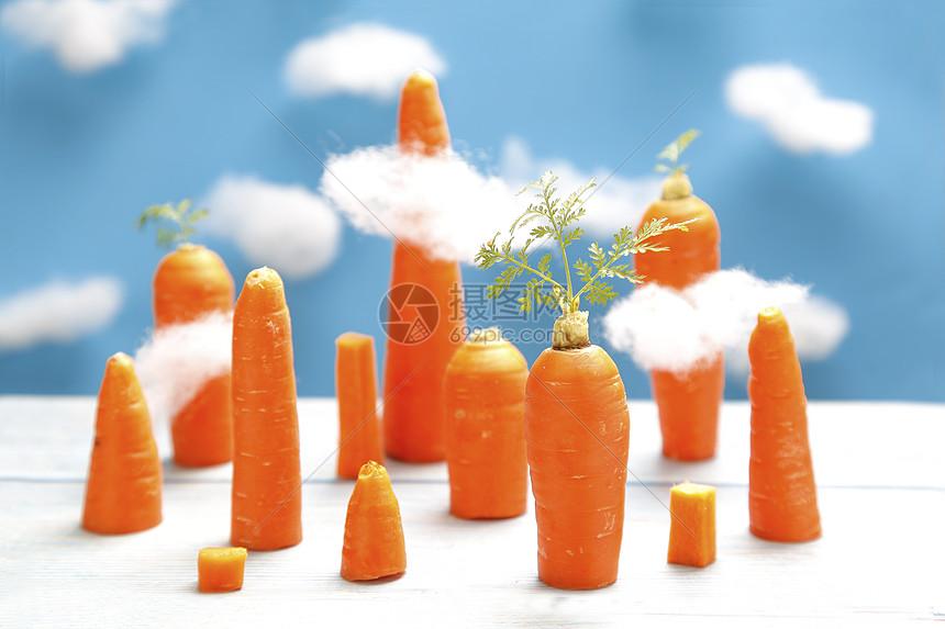 创意水果背景图片