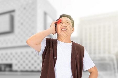 头疼男性图片