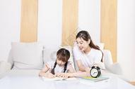 幸福家庭亲子辅导功课图片