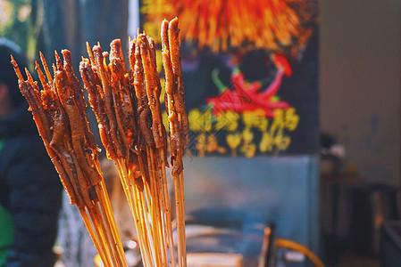 苏州平江路小吃秘制鸭肠图片