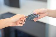 信用卡结账图片