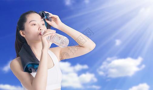 高温夏日图片
