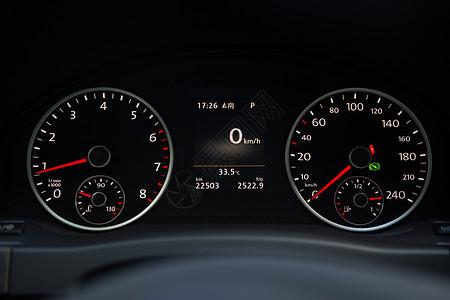 汽车仪表盘静物图图片