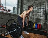 健身房强壮男性杠铃运动500969105图片
