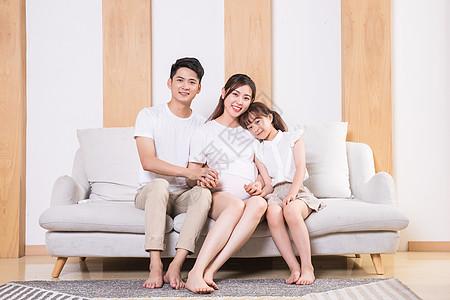 家庭亲子二胎图片