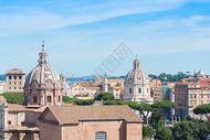 意大利罗马古建筑遗址图片
