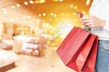 手机付款购物图片