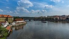 捷克首都布拉格城市风光图片