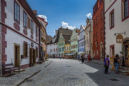 波兰华沙老城街头售卖艺术品图片