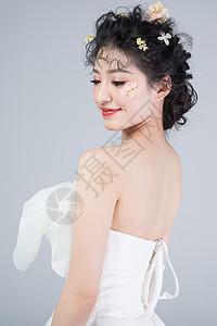 新娘甜美新娘妆图片