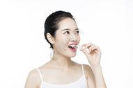 口腔牙齿护理女性图片