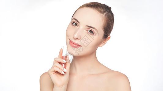 外国美女化妆美容图片