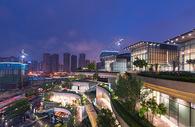 成都市万象城全景夜景图片