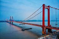 武汉版金门大桥-鹦鹉洲长江大桥图片