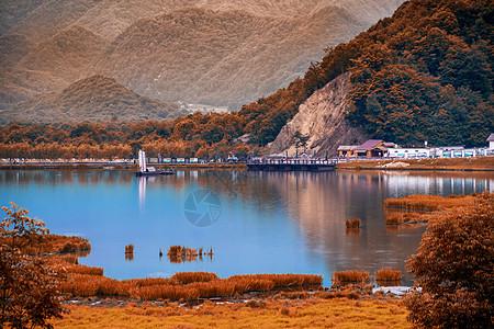 神农架大九湖秋色美景图片