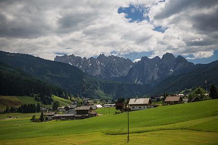 奥地利自然纯净的田园风光图片