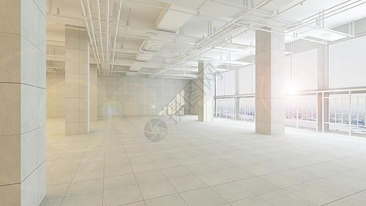 工业风室内场景图片