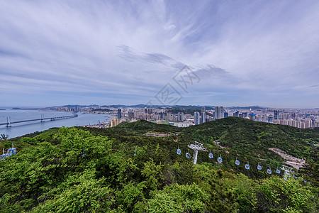 城市海景风光图片