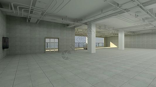 大空间室内背景效果图图片