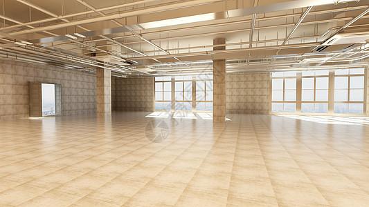 创意工业空间场景图片