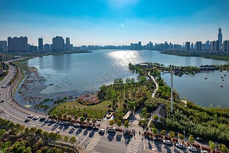 合肥城市绿地翡翠湖公园图片