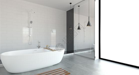 浴室空间图片
