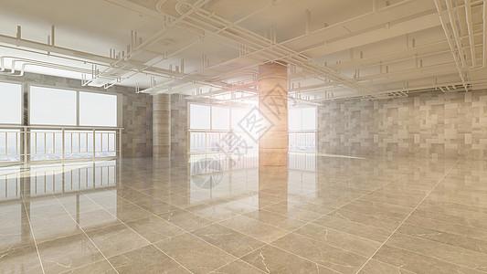 室内大空间效果图图片