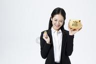商务女性金融理财图片
