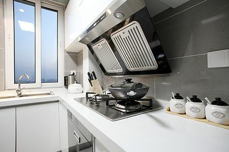 现代厨房场景图片