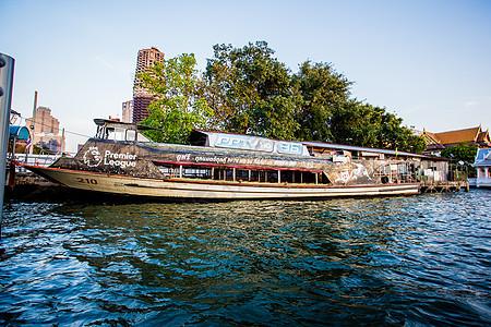 曼谷湄南河游船图片