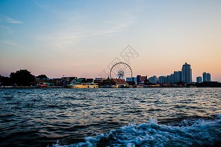 曼谷湄南河图片