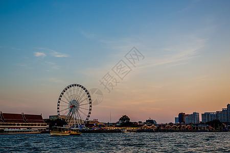 曼谷摩天轮图片