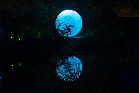 河南云台山夜景图片