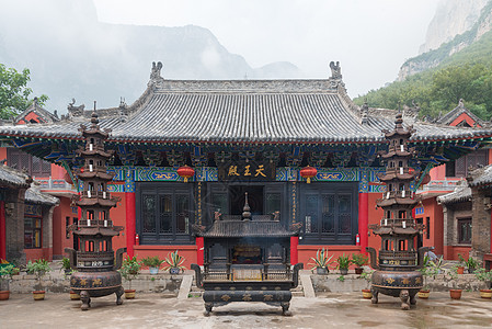 河南云台山万善寺图片