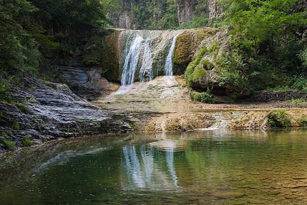 河南云台山瀑布图片