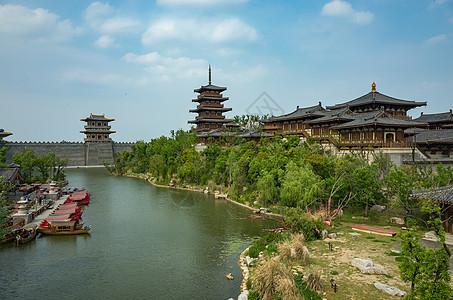 湖北襄阳唐城影视城图片
