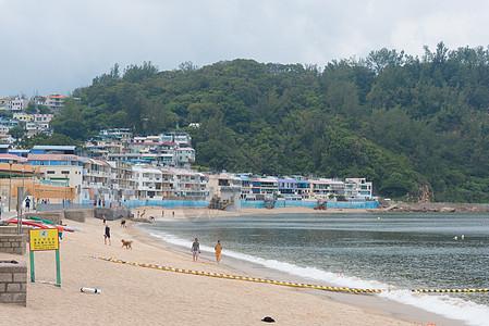 香港长洲岛海滩图片