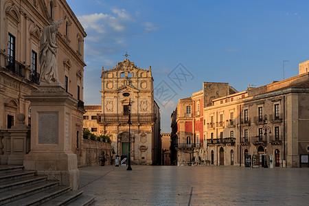 意大利西西里岛锡拉库萨大教堂图片