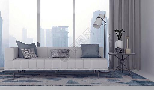 休闲沙发场景图片