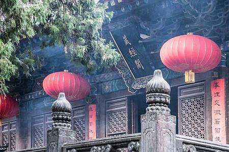 少林寺的藏经阁图片