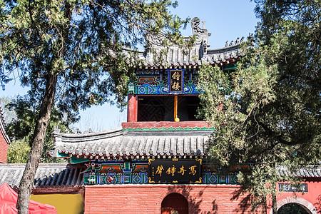 洛阳白马寺的钟楼图片