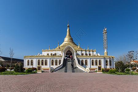 缅甸佛殿图片