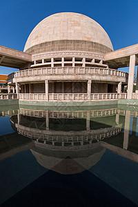 印度圆形佛殿图片