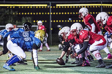 橄榄球比赛图片