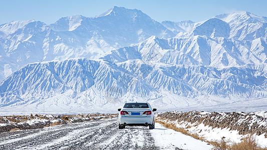 雪山风光图片