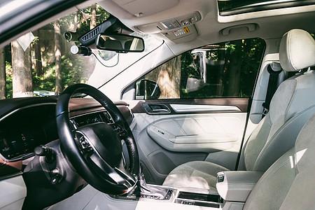 汽车内饰方向盘图片