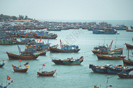 越南美奈渔港图片