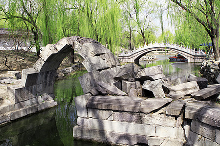 北京圆明园遗址公园图片