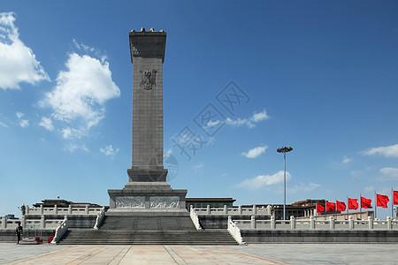 天安门广场的人民英雄纪念碑图片